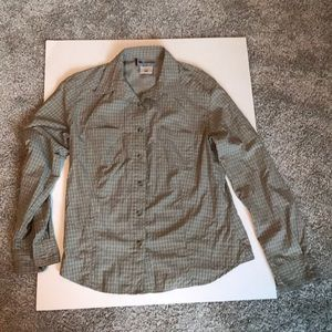 COLUMBIA WOMENS  LONG SLEVED BUTTONED DOWN TOP